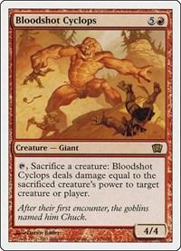 Bloodshot Cyclops, Magic: The Gathering, 8th Edition