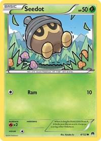 Seedot, Pokemon, XY - BREAKpoint
