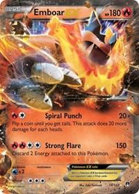 Emboar EX, Pokemon, XY - BREAKpoint