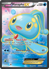 Manaphy EX (Full Art), Pokemon, XY - BREAKpoint