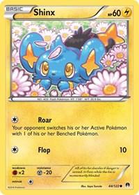 Shinx, Pokemon, XY - BREAKpoint