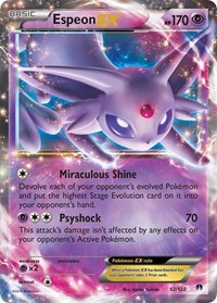 Espeon EX, Pokemon, XY - BREAKpoint