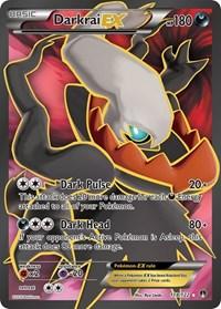 Darkrai EX (Full Art), Pokemon, XY - BREAKpoint