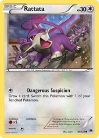 Rattata, Pokemon, XY - BREAKpoint
