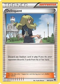 Delinquent, Pokemon, XY - BREAKpoint