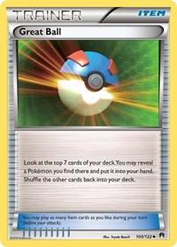 Great Ball, Pokemon, XY - BREAKpoint