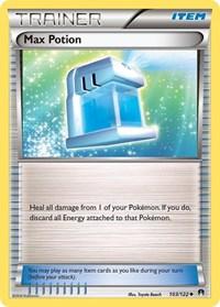 Max Potion, Pokemon, XY - BREAKpoint