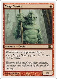 Mogg Sentry, Magic: The Gathering, 8th Edition