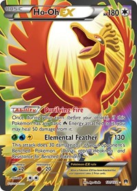Ho-Oh EX (Full Art), Pokemon, XY - BREAKpoint