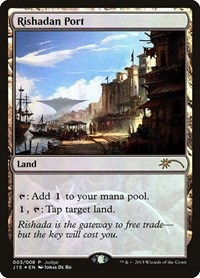 Rishadan Port, Magic, Judge Promos