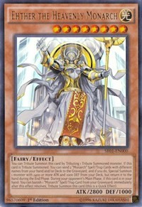 Ehther the Heavenly Monarch, YuGiOh, Structure Deck: Emperor of Darkness