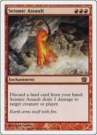 Seismic Assault, Magic: The Gathering, 8th Edition