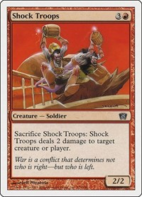 Shock Troops, Magic: The Gathering, 8th Edition