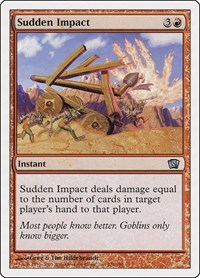 Sudden Impact, Magic: The Gathering, 8th Edition