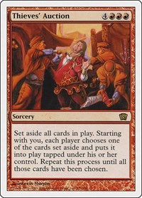 Thieves' Auction, Magic: The Gathering, 8th Edition