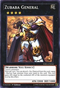 Zubaba General, YuGiOh, Wing Raiders