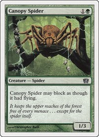 Canopy Spider, Magic, 8th Edition