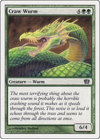 Craw Wurm, Magic: The Gathering, 8th Edition
