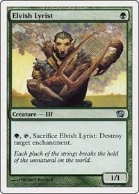 Elvish Lyrist, Magic: The Gathering, 8th Edition