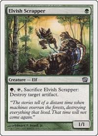 Elvish Scrapper, Magic, 8th Edition