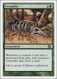 Fecundity, Magic: The Gathering, 8th Edition