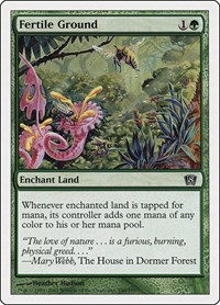 Fertile Ground, Magic: The Gathering, 8th Edition