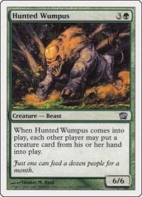 Hunted Wumpus, Magic: The Gathering, 8th Edition