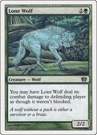 Lone Wolf, Magic: The Gathering, 8th Edition
