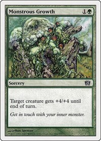Monstrous Growth, Magic: The Gathering, 8th Edition