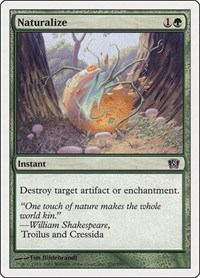 Naturalize, Magic: The Gathering, 8th Edition