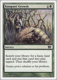 Rampant Growth, Magic: The Gathering, 8th Edition