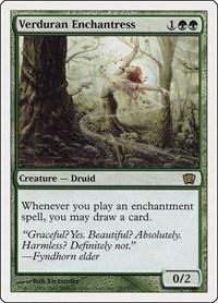 Verduran Enchantress, Magic: The Gathering, 8th Edition