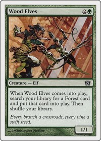 Wood Elves, Magic: The Gathering, 8th Edition