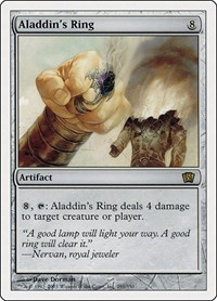 Aladdin's Ring, Magic: The Gathering, 8th Edition