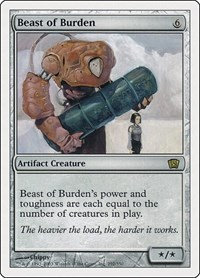 Beast of Burden, Magic: The Gathering, 8th Edition
