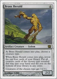 Brass Herald, Magic: The Gathering, 8th Edition