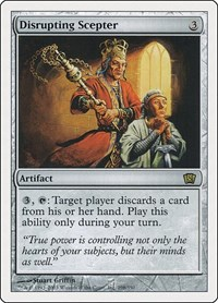Disrupting Scepter, Magic: The Gathering, 8th Edition
