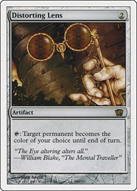 Distorting Lens, Magic: The Gathering, 8th Edition