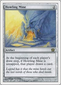 Howling Mine, Magic: The Gathering, 8th Edition