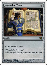 Jayemdae Tome, Magic: The Gathering, 8th Edition