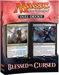 Cursed Deckbox Magic the Gathering Ultra Pro Deck Box MTG Duel Decks Blessed vs