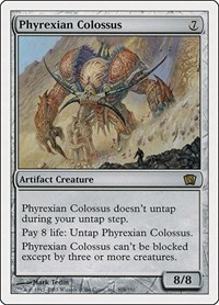 Phyrexian Colossus, Magic, 8th Edition
