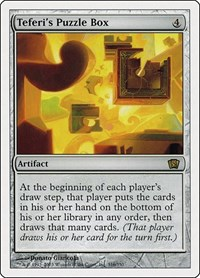 Teferi's Puzzle Box, Magic: The Gathering, 8th Edition