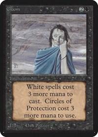 Gloom, Magic: The Gathering, Alpha Edition