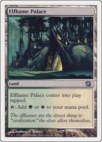 Elfhame Palace, Magic: The Gathering, 8th Edition