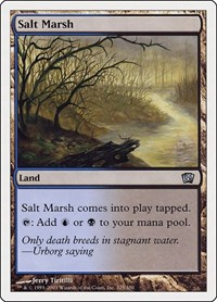 Salt Marsh, Magic, 8th Edition
