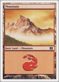 Mountain (346), Magic: The Gathering, 8th Edition