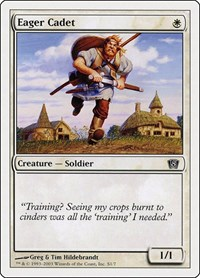 Eager Cadet, Magic: The Gathering, 8th Edition