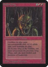 Goblin King, Magic: The Gathering, Alpha Edition