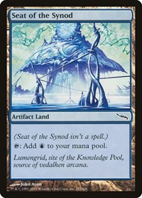 Seat of the Synod, Magic: The Gathering, Mirrodin